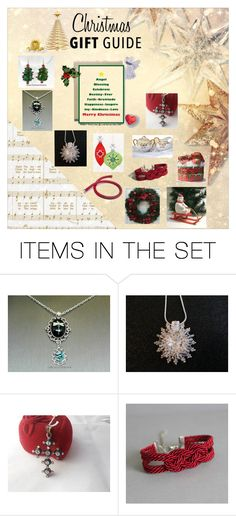"""""""Christmas Gift Guide"""" by glassdreamshawaii ❤ liked on Polyvore featuring art and vintage"""