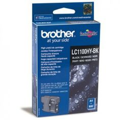 Brother Original LC1100HYBK Hi-Capacity Black Ink  100% Genuine Brother LC1100HYBK Hi-Capacity Black Ink Cartridge. For use with the following printers:  Brother DCP-385C Brother DCP-395CN Brother DCP-585CW Brother DCP-6690CW Brother MFC-490CW Brother MFC-5490CN Brother MFC-5890CN Brother MFC-6490 Brother MFC-6490CW Brother MFC-6890CDW Brother MFC-790CW Brother MFC-795CW Brother MFC-990CW