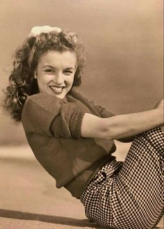 Norma Jean,18 years old