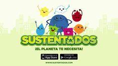 Promotional video for SUSTENTADOS app, a (fictional) environmental quiz game. 2015
