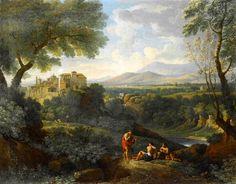 BLOEMEN, Jan Frans van Flemish painter (b. 1662, Antwerpen, d. 1749, Roma) lassical Landscape
