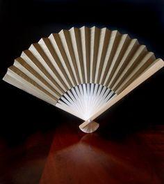 Gold paper folding hand fans