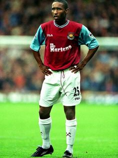 Jermain Defoe of West Ham in 2001.