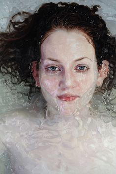 """""""As Is,"""" by Alyssa Monks. Oil on linen (Courtesy of Alyssa Monks) Artist Painting, Painting & Drawing, Hyper Realistic Paintings, Abstract Painters, Portrait Art, Portrait Paintings, Oil Paintings, Figurative Art, Amazing Art"""