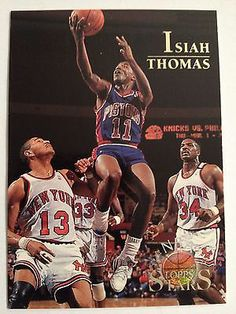 Isiah Thomas - Detroit Pistons! A simply super player who never got the respect he deserved!