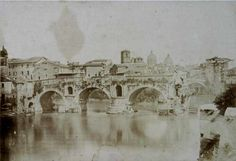 Rome, the Broken Bridge (Il Ponte Rotto) 1848