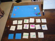 De kleine kunstenaars (2007)- bedenk je eigen  bordspel