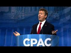 CPAC 2013 - U.S. Senator Rand Paul (R-KY)  'The GOP Of Old Has Grown Stale And Moss-covered'  (Definately)