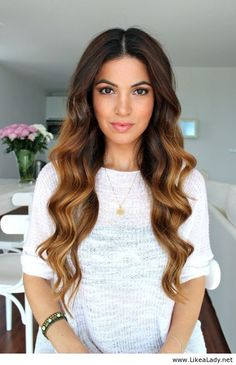 Soft bouncy curls wish my hair looked like this