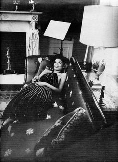 Bianca Jagger in the White House, 1975