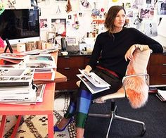 Work B*tch: A Peek at Famous Offices, Jenna Lyons