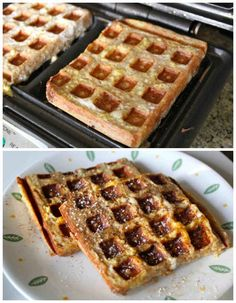 French Toast | 17 Unexpected Foods You Can Cook In A Waffle Iron I now need a waffle iron.... just for the pizza and cookie recipe alone.... birthday, christmas, house warming gift....