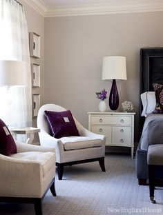 Ss 2014 from austria to zen geiger spring transition collection on pinterest innovation Royal purple master bedroom