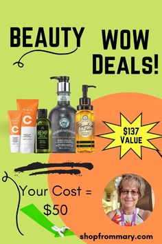 Enjoy this self-pampering deal from Avon! Get skincare, body wash, and hair products for one low price. This is the perfect time to stock up on your favorite beauty items or try something new. Bargain shoppers love the Avon 135th Anniversary Beauty Bundle Deals. Bundle includes Vitamin C skincare, body wash, dry body oil and hair product! Learn more about this self-pampering wow beauty deal from your Avon representative, Mary Bertsch. Brochure Online, Avon Brochure, Dry Body Oil, Priming Moisturizer, Wow Deals, Avon Sales, Avon Online, Avon Representative, Body Wash