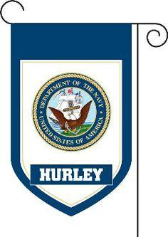 US Navy Monogrammed House Flag