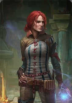 Post with 26751 views. The Witcher Gwent Card Art Anime Art Fantasy, Fantasy Rpg, Medieval Fantasy, Fantasy Artwork, Dark Fantasy, The Witcher 3, The Witcher Wild Hunt, Witcher Art, Triss Merigold Witcher 3
