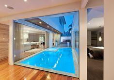 Laguna Pools Loft Design, House Design, Pool House Plans, Casa Patio, Backyard Renovations, Luxury Pools, Beautiful Pools, House With Porch, Home Upgrades