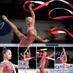 Arina AVERINA (Russia)🇷🇺 ~ Collage Ribbon @ GP Thiais 2016🇫🇷 👍🏼👍🏼 Photographer 🇩🇪Bernd Thierolf.