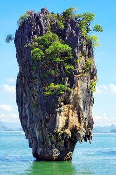 James bond island in Thailand, ko tapu.