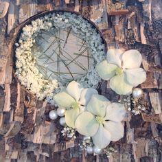 Bloemstuk met witte Orchideeën
