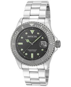 427a58ad85 Invicta Men s Automatic Pro Diver Stainless Steel Bracelet Watch 43mm 14758  - Watches - Jewelry  amp