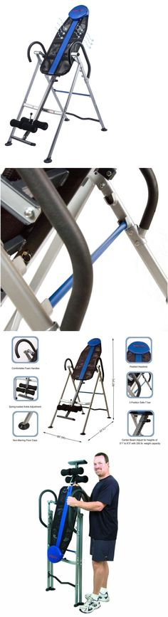 Inversion Tables 112954: Anti Gravity Inversion Table Back Therapy Exercise Fitness Pain Relief New BUY IT NOW ONLY: $105.51 #InversionTables