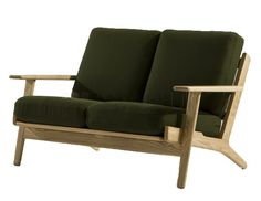 Hans Wegner Plank 2 Seater Sofa - Origins by Inmod puts an organic, modern spin on the classic loveseat design with the nature-inspired Hans Wegner Plank 2 Seater Sofa.
