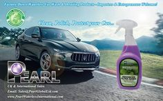 Nano Wax, high-grade carnauba wax the world's hardest natural protective wax with the ultimate exterior cleaning and detailing solution: clean, refresh, shine and protect with Nano - http://pearlwaterlessinternational.com/advanced-ultra-nano/