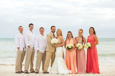 Southernmost Beach Wedding: Kendra & Tom in Key West - inspiration for Florida weddings, social events and lifestyle Beach Wedding Bridesmaids, Beach Wedding Guests, Beach Wedding Colors, Lace Beach Wedding Dress, Beach Wedding Decorations, Beach Weddings, Wedding Ideas, Wedding Inspiration, Wedding Shit