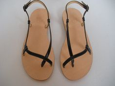 TUTO LEATHER SANDALS. by tuto on Etsy, $89.00