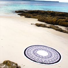 The Peyton round towel, designed by Xueller Australia, is made of super soft velour and terry toweling. Xueller round towels are your perfect summer staple.