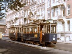 Fifties tram