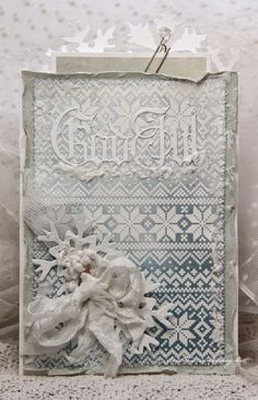 Christmas Card (Anne's paper fun)