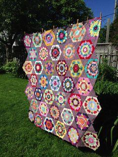 Rose Star quilt.