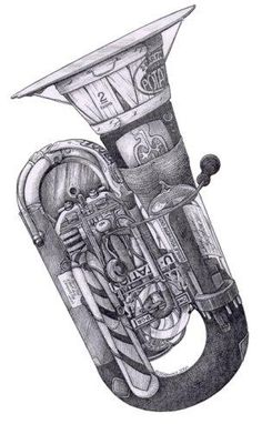 Tuba by DS Art