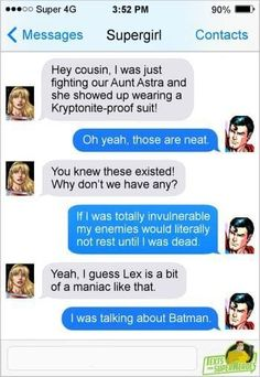 Batman and Superman ARE villains! Marvel Funny, Marvel Memes, Marvel Dc Comics, Funny Comics, Superhero Texts, Geeks, Dc Memes, Dc Characters, Batman And Superman