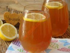 Soğuk Çay (Ice Tea) Resimli Tarifi - Yemek Tarifleri Cold Drinks, Alcoholic Drinks, Cocktails, No Gluten Diet, Frappe, Iced Tea, Hot Sauce Bottles, Matcha, Tea Time
