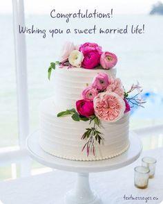 The Love Pinch Bridal Couple Wedding Cake Topper - Ideal Wedding Ideas Small Wedding Cakes, Floral Wedding Cakes, Wedding Cakes With Flowers, Wedding Cake Designs, Cake Wedding, Wedding Vows, Wedding Dresses, Wedding Venues, Fruit Wedding
