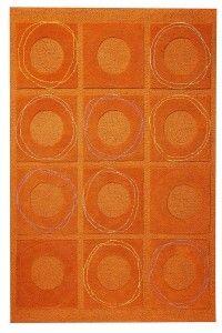 RugStudio presents MAT Orange Catena Circa Rust Woven Area Rug