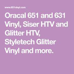 Oracal 651 and 631 Vinyl, Siser HTV and Glitter HTV, Styletech Glitter Vinyl and more. Transfer Tape, Heat Transfer Vinyl, Nfl Team Colors, Siser Easyweed, Stencil Material, Dark Material, Pop Display, Patterned Vinyl, Vinyl Sheets