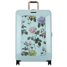 Ted Baker Large Distinguishing Rose Suitcase (79.5 cm) (129.865 HUF) ❤ liked on Polyvore