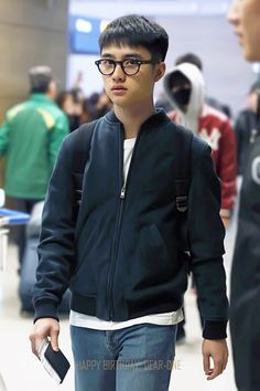 160123 EXO D.O. | Incheon Airport departing for Manila