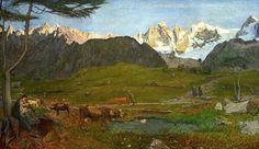 Giovanni Segantini(1858ー1899)「alpen」