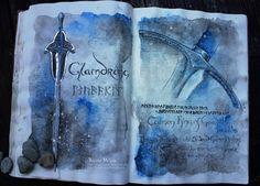 Glamdring: the Sword of Gandalf by Kinko-White.deviantart.com on @deviantART