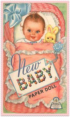 Zetta's Aprons: Baby Dot...Vintage Baby Powder Doll!