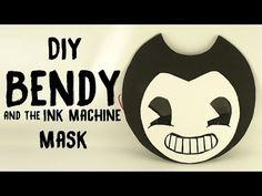 DIY Bendy and the Ink Machine Mask – Gina Tepper - model. Dragon Halloween, Halloween Masks, Holidays Halloween, Halloween Costumes For Kids, Halloween Party, Homemade Costumes, Diy Costumes, Costume Ideas, Luigi Costume