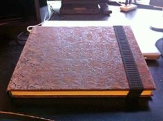 Beautifully done re-used books as iPad cases.