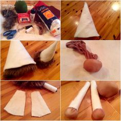 kreativny diy napad a navod - Vianočný škriatok 1