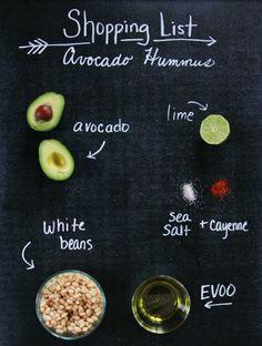 Avocado Hummus | The Lovely Cupboard