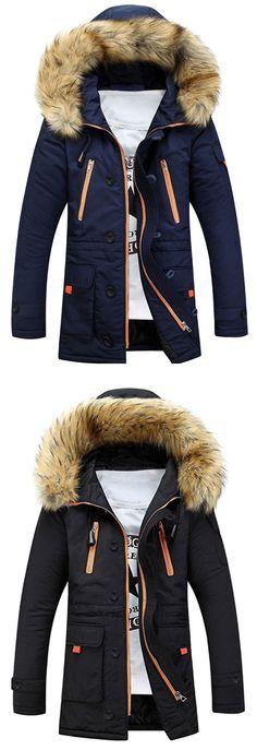 Up to 80% OFF! Faux Fur Hooded Zip Up Multi-Pocket Padded Coat. #Zaful #hoodies Zaful, zaful outfits, zaful sweater, zaful men, mens top,men fashion, man sweatshirts, man hoodies,man outfits, hoodies men swag, hoodies men pullover, jackets men, t-shirts,long sleeve t shirts,v neck t shirts, denim jacket, winter outfits, winter fashion, fall fashion, fall outfits, Christmas, ugly, ugly Christmas, Thanksgiving, gift, Christmas hoodies, Black Friday, Cyber Monday @zaful Extra 10% OFF…